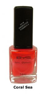 <b>BYS Nail Polish - Coral Sea No. 46</b>